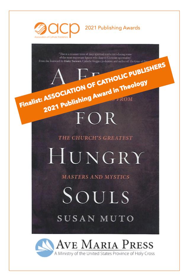 Book Nominated as Finalist for Catholic Publishing Award